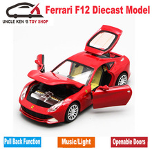Diecast Scale Models Toys Sport Cars, Collection Vehicle For Boys With Different Colors