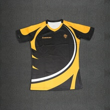 High Quality Custom New Design Sublimated Rugby Jersey