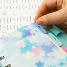 DokiBOOK Homemade Paste Index Word Label Stickers Decorative Stickers DIY Album Diary PDA Accessories