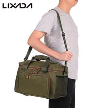 Multifunctional Fishing Bag Canvas Waist Shoulder Fishing Lure Bag Fishing Tackle Shoulder Messenger Outdoor Sport Bags Pesca