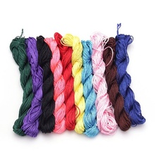 24M(944 inch) Length & 1mm Diamter Chinese Knot Macrame String Wire Cord Thread for DIY Necklace Bracelet Braided String