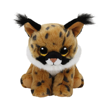 "Pyoopeo Ty Beanie Boos 6"" Larry The Brown Lynx Plush Beanie Baby Plush Stuffed Animal Collectible Soft Big Eyes Doll Toy"