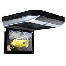 "10.1"" Touch Button Design Flip Down Car DVD Car Roof DVD Roof Car DVD with Built-in HDMI Port & Double Dome Light"