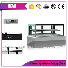 Commercial Bread Cake Display Showcase Refrigerator for Bakery and Supermarkets, Display Cake Cabinet Fridge(China)