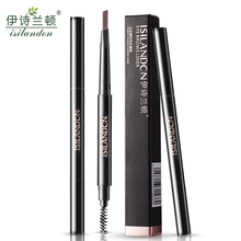2 Colors Eyebrow Pencil Eyebrow Powder Eyebrow Cream Eye Makeup  Long-lasting Waterproof  Easy TO Wear Eye Brow Makeup Tool