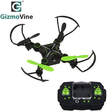 GizmoVine RC Drone 2.4GHz 4CH 6Axis Gyro Altitude Hold Headless 3D Rolling Mini Foldable Arm Pocket Rc Quadcopter Drone with LED(China)