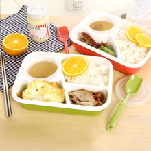 Buy Lunch Boxs bento box Food Container Storage Box Lunch Box Containers Compartment Japanese Kid School for $8.65 in AliExpress store