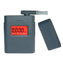 DHL Free Shipping, 100pcs digital breath alcohol tester AT838 breathalyzer with backlight & 5pcs 360 degree rotating mouthpiece(China)