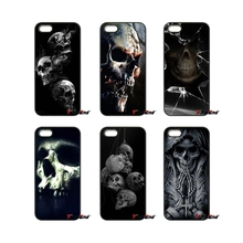 The Haunted Mansion Skull Pattern Cell Phone Case For Huawei Ascend P6 P7 P8 P9 P10 Lite Plus 2017 Honor 5C 6 4X 5X Mate 8 7 9(China)