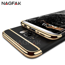 NAGFAK Luxury Ultra Thin Shockproof Cases For Samsung Galaxy J2 J5 J7 Case for Samsugn Galaxy A3 A5 A7 2017 2016 S6 S7 Edge Case(China)