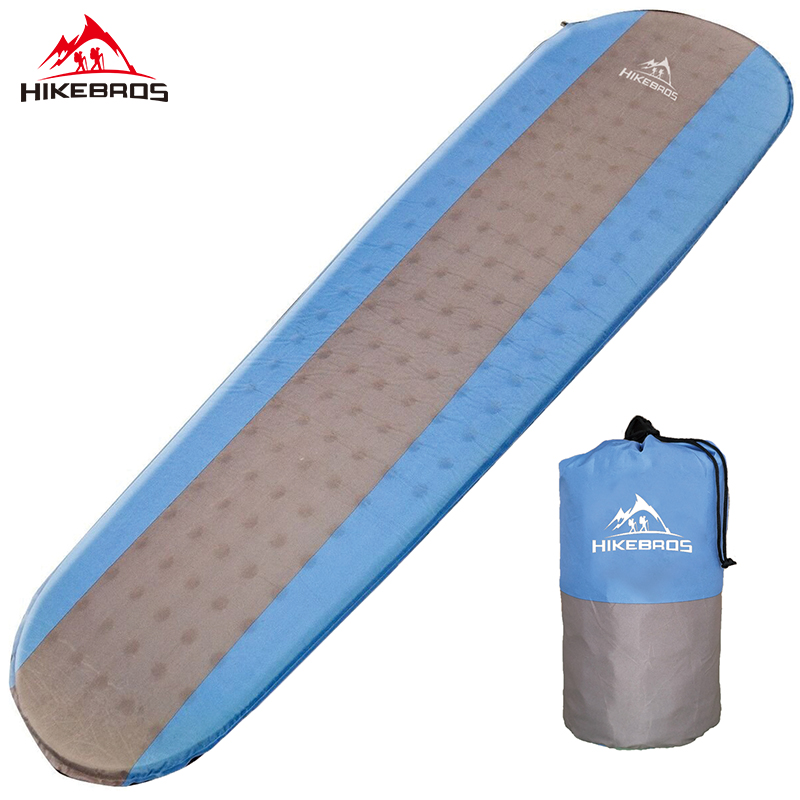 HIKEBRO Hot Sales Mummy sleeping bag Self inflating Sleeping Pad Moisture proof sleeping mat<br>