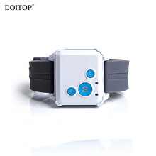 DOITOP Mini GPS Alarm Kids Anti Lost SOS Real Time Monitor Outdoor Sports Position GPS Location Tracker For Children Elder Pet(China)