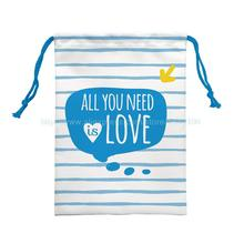 4Ps All You Need Is Love Custom Laundry Shoe Bag Travel Pouch Storage Portable Tote Drawstring Storage Bag Organizer Covers(China)