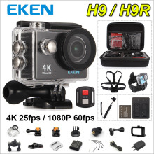 Action camera Original EKEN H9 / H9R remote Ultra HD 4K WiFi 1080P/60fps 2.0 LCD 170D Helmet Cam 30M waterproof camera
