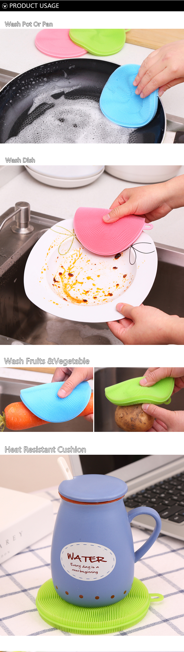 dishwashing brush kitchen