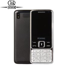 Quad Band Dual Sim Unlocked old man mobile Phone Big Keyboard Fonts Original FORME MINI 1 Cell Phones(China)