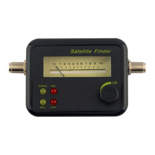 Factory directly sale~GSF9504 Plastic Black Mini Digital LCD Display Satellite Signal Finder Meter Tester Excellent Sensitivity