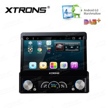 XTRONS 7 inch Android 6.0 One Din Car Stereo DVD Player With WIFI DAB+Universal GPS navigation Steering Wheel Contro automotivo