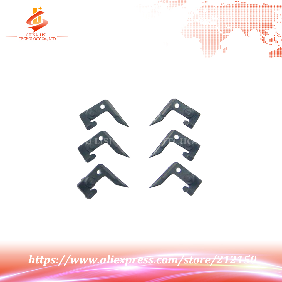 6Pcs/Set OEM New Compatible For Toshiba 168 169 208 209 258 259 1600 2500 Separation Claw Fuser Upper Roller<br><br>Aliexpress