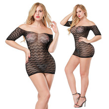 Buy 2018 Lingerie Sexy Hot Erotic Costumes Porno Babydoll Dress Sexy Underwear Transparent Lace Sleepwear Plus Size Sexy Lingerie