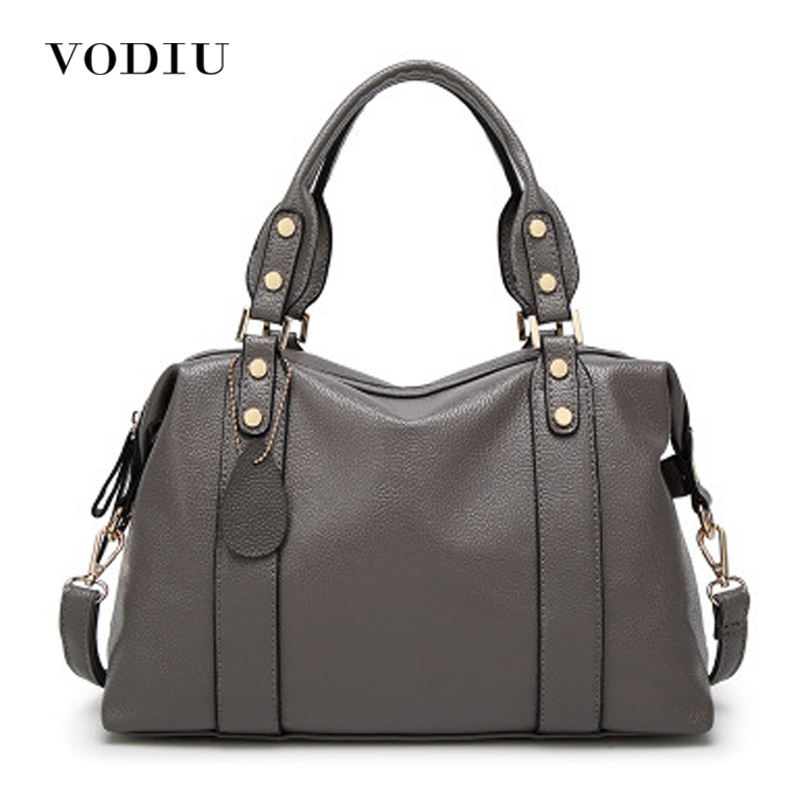 Women Bags Genuine Leather Tote Over Shoulder Sling Messenger Crossbody Tote Luxury Designer 2017 Hot Big Zipper Female Handbags<br>