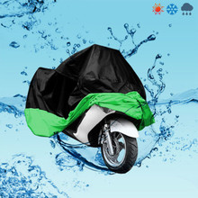 High Quality XL 245*105*125cm Motorcycle Moto Cover Electric Bicycle Covers Motor Rain Coat Waterproof Suitable for All Motors(China)
