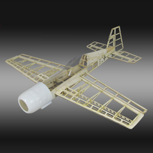 RC Plane Laser Cut Balsa Wood Airplane  Kit New YAK54 Frame without Cover Free Shipping Model Building Kit