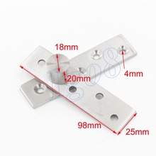 Great Sales 360 Degree 98mm x 25mm Door Pivot Hinges 2PCS