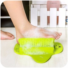 Bath Blossom Foot Scrub Brush Exfoliating Feet Scrubber Spa Shower Adult Foot Massage Brush Remove Feet DEAD SKIN Cleaning Brush(China)