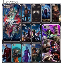 Lavaza Guardians of the for Galaxy Marvel rocket groot phone Skin Case Cover for iPhone 10 X 8 7 6 6s Plus 5 5S SE 5C 4 4S(China)