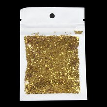 Gold Color Thin Beads Nail Art Dust Powder Glitter Powder For Women Make Up DIY Tools Nail Glitter Holographic WY551