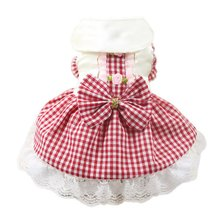 Dog Dress Puppy Princess Skirt Cat Clothes for Small Dog Funny Pet Costume Bowknot Floral Dresses For Dogs