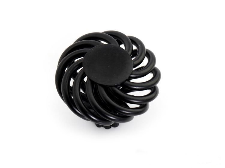 European Style Furniture Black Birdcage Kitchen Cabinet Handle ( D:35MM H:34MM )<br><br>Aliexpress