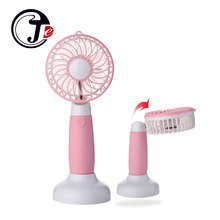 Portable Table Fans Handheld Mini Fan for Home USB Air Conditioning Home Conditioner Cooling Ventilador with Battery 1200mAh(China)