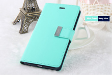 New coming GOOSPERY Rich Diary Flip Wallet Case Cover for Samsung Galaxy Note 5,for galaxy note 5 mobile casing(China)