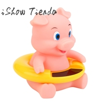 Cute Animal Lovely Infant Bath Tub Thermometer Water Temperature Tester Toy(China)