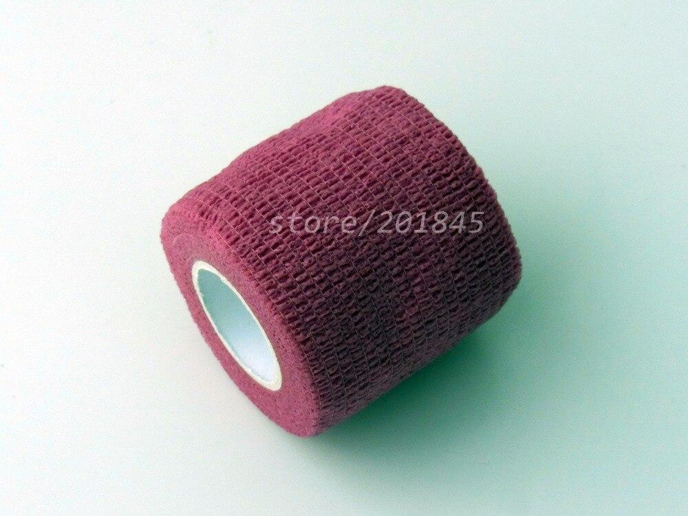 Wholesale 96Pcs/Lot  Non woven elastic gauze Self Adhesive Cohesive Medical Bandage 5cm*4.5m Pink<br><br>Aliexpress
