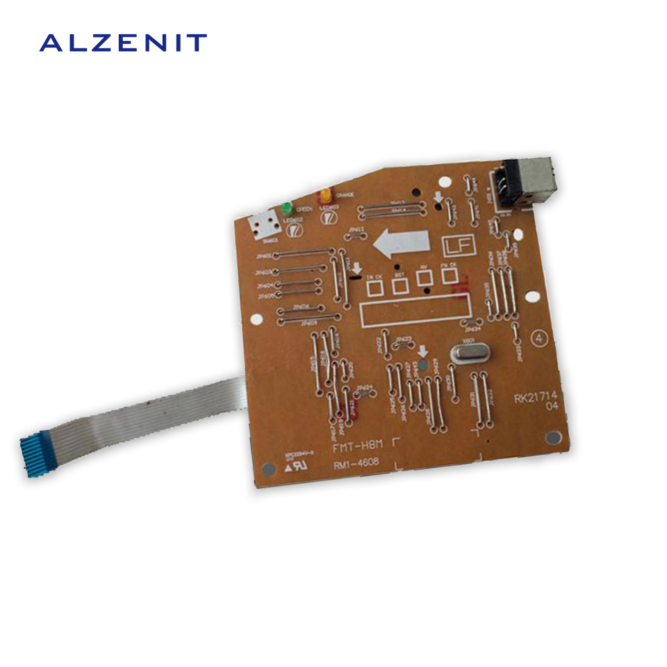 ALZENIT For HP P1005 P1007 1005 1007 Original Used Formatter Board RM1-4607 RM1-4607-000 Printer Parts On Sale<br>