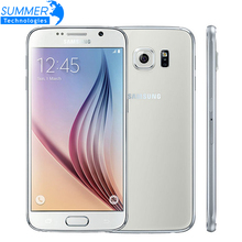 "Unlocked Original Samsung Galaxy S6 G920 G925Edge Mobile Phone 5.1"" 3GB RAM 32GB ROM Octa Core Android 16.0MP Camera Smart Phone"