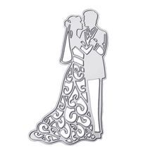 Buy Metal Bride Groom Wedding Cutting Dies Stencils DIY Scrapbooking Card Paper Photo Album Embossing Decor Craft for $2.08 in AliExpress store