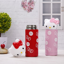 Hello Kitty Stainless Steel Double Wall Vacuum Flask Coffee Mug Travel Tumbler Water Bottle Insulated Thermos Cup For Children