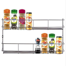 YONTREE 1 pc 2/3/4 Layers Iron Spice Rack Storage Wall Kitchen Tools Holder - Seasofbeauty store