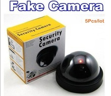 5Pcs/lot Emulational Fake Decoy Dummy Security CCTV DVR for Home Camera with Red Blinking LED