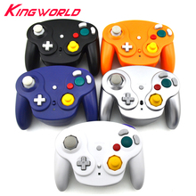 Wireless 2.4GHz Bluetooth Wifi Controller Gamepad Portable joystick for Nintendo for GameCube NGC(China)