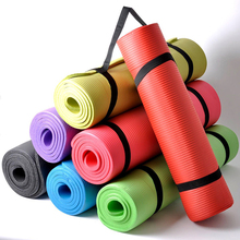 Yoga Mat For Beginners Anti Slip sport mat non slip fitness mat with yoga rope gym mat 180*60*15cm 456(China)
