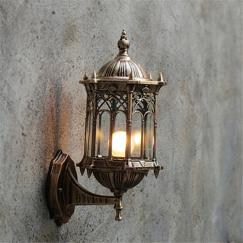 Adjustable Surface Mounted Copper/Black Glass Iron Waterproof Outdoor Lighting,Led Outdoor Wall Light, Up Down Wall Lamp,WLL-344<br><br>Aliexpress