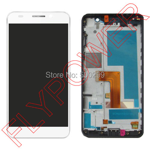 For Huawei Honor 6 H06-L01 H06-L11 LCD Screen Display with Touch Screen Digitizer + frame Assembly  white by free shipping<br><br>Aliexpress