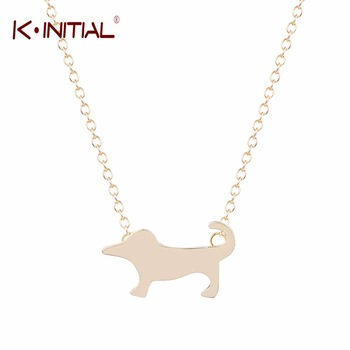 1Pcs Fashion Dog Necklace Bulldog Necklaces Pendants For Women Girl Charm Choker Necklace Gold Statement Chain Necklace Jewelry