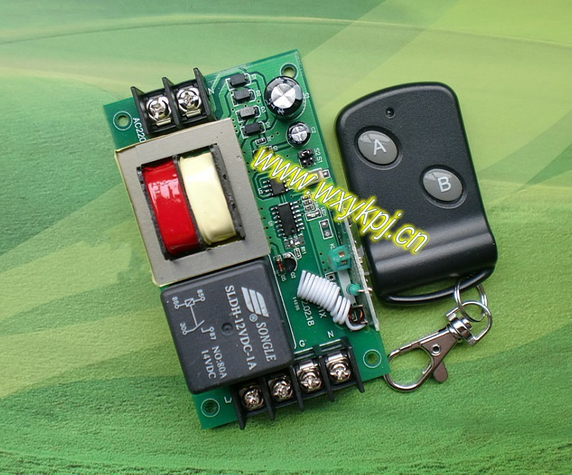 MEW Smart home controller AC220V 50A 1CH RF wireless remote 315mhz 433mhz transmitter and reeiver<br><br>Aliexpress