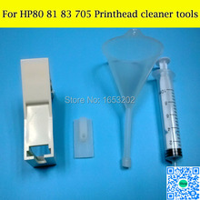 Best Cleaner Tools For HP 80 83 81 90 705 Printhead Cleaning Tool Smart Clean Kit For HP 1050 1055 1000 4000 5000 Print Head